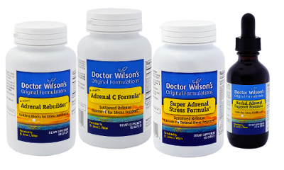 Dr. Wilson's Adrenal Fatigue Quartet