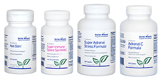Dr. Wilson's immune support supplements